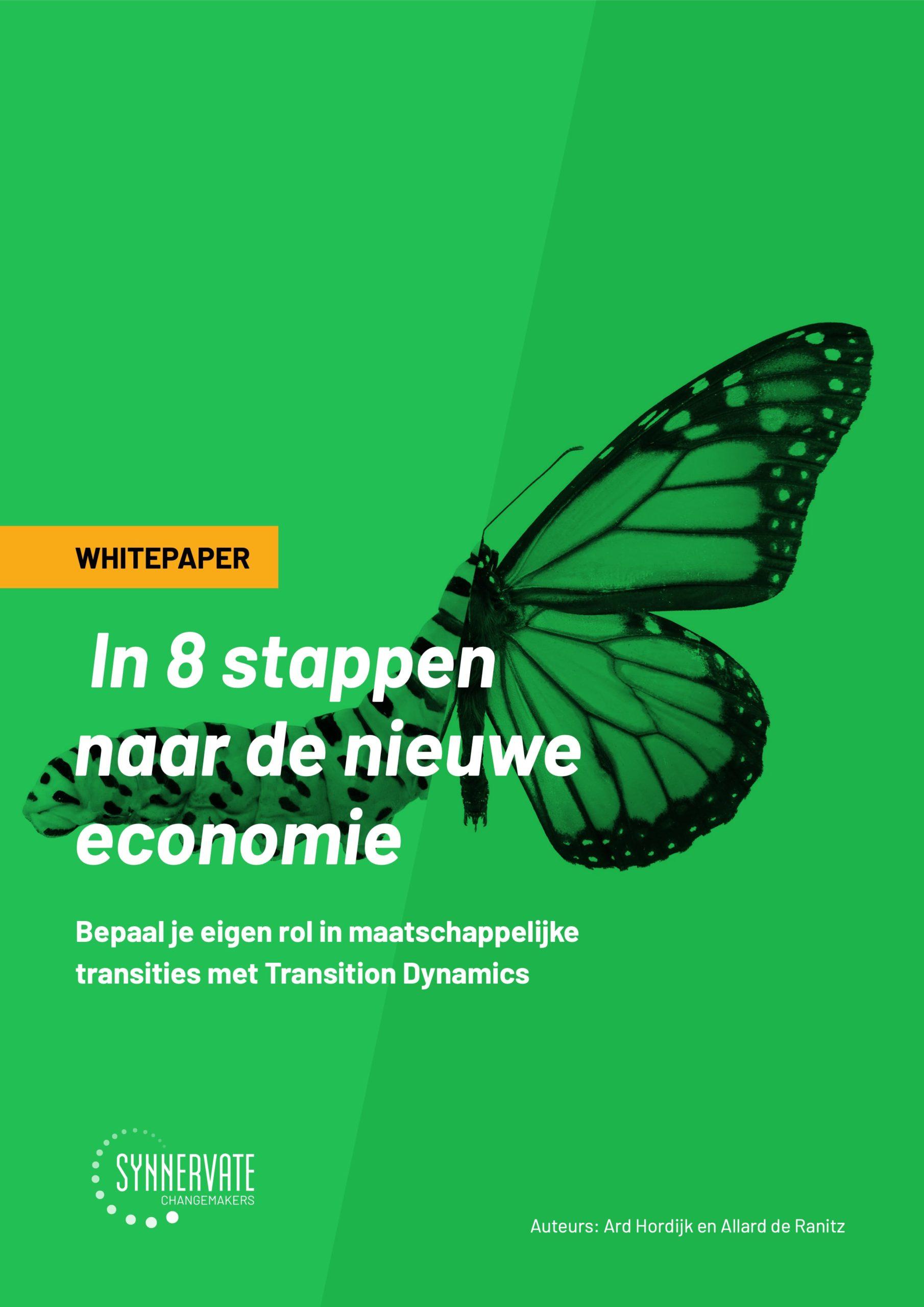 In 8 stappen naar de nieuwe economie